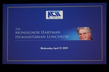 The Msgr Hartman Humanitarian Luncheon - 4/17/2019